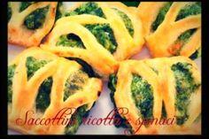 Saccottini ricotta e spinaci