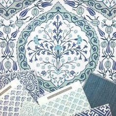 Elizabeth Hamilton Collection - Persia - Ocean Scheme