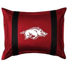 Arkansas Razorbacks Sideline Pillow Sham
