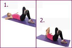 Únete al #reto de #ejercicios para el #abdomen. Luce un cuerpazo en #verano