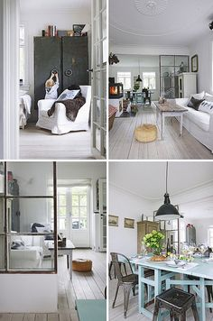 a home with an industrial touch by the style files, via Flickr