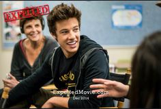 "You guys wanna see the trailer? Just go on Cam's YouTube channel ( Cameron Dallas ) and maybe you'll find the full trailer for ""Expelled"" [ if not then on YouTube type in Cameron Dallas Expelled movie trailer ]"
