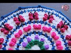 Debi's Crochet Mandala for Marinke. Link download: http://www.getlinkyoutube.com/watch?v=wyqzhazrWkU
