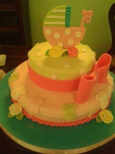 Torta de baby chower.elaborada por mileida