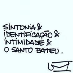 Que na vida a gente encontre isso! ❤️ #regram @umcartao #frases #sintonia #amor #amizade #pessoas