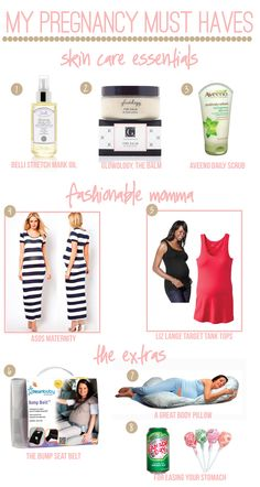 Pregnancy Must Have List...I should be a pro by now but it's always nice to know!