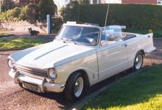 Ugly duckling Triumph Herald 13/60 Convertible