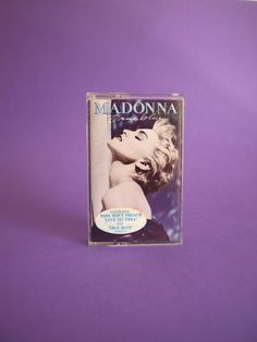 Madonna True Blue Cassette Tape 1986 - Papa Don't Preach Vintage Retro Top Hits - by WEA Records Australia by FunkyKoala on Etsy Vintage Music, Retro Vintage, Madonna True Blue, White Heat, Cassette Tape, Australia, The Originals, Top, Shirts