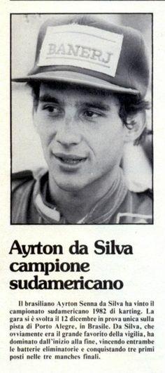 Ayrton Senna - Jornal italiano