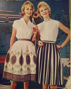 """38 Likes, 3 Comments - @vintage_junkie_87 on Instagram: """"From a Swedish mailorder catalogue of summer 1961 """"Karles Borås"""" 😍  #50s #1961 #1950s #60s #1960s…"""""""