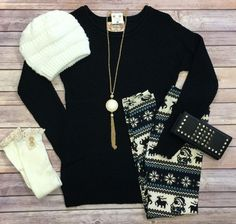 Moments Notice Sweater: Black from privityboutique
