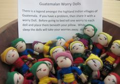 Fair Trade Guatemalan Worry Dolls