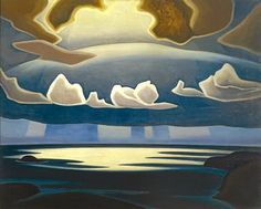 North Shore, Lake Superior by Lawren Harris, Canadian Group of Seven Tom Thomson, Emily Carr, Group Of Seven Artists, Group Of Seven Paintings, Canadian Painters, Canadian Artists, Abstract Landscape, Landscape Paintings, Abstract Paintings