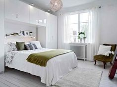 Interesting decorating ideas for small bedroom designs