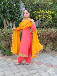Bridal Suits Punjabi, Punjabi Suits Party Wear, Desi Wedding Dresses, Crochet Edging Patterns, Embroidery Suits Design, Indian Designer Wear, Indian Wear, Salwar Kameez, Fashion Boutique