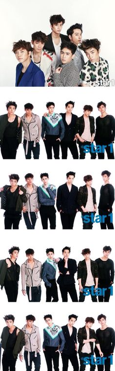 2PM - Star1 Magazine June Issue '13