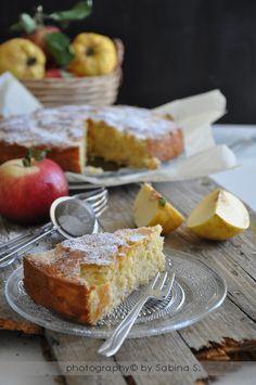 Due bionde in cucina: Torta di mele cotogne