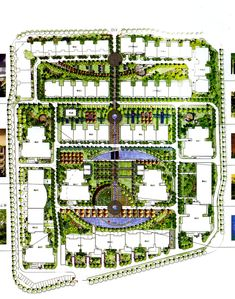 Landscaping in Residential Blocks Futuristic Architecture, Residential Architecture, Landscape Architecture, Site Plan Design, Urban Design Plan, Landscape Design Plans, Urban Landscape, Townhouse Designs, Site Plans