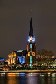 20 Most Beautiful Churches Around The World: Three Kings Church In Frankfurt, Germany Visit Germany, Germany Travel, Beautiful World, Beautiful Places, Places Around The World, Around The Worlds, Weird Pictures, Place Of Worship, Beautiful Buildings