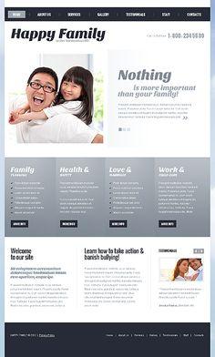 Happy Family Joomla Templates by Jenny