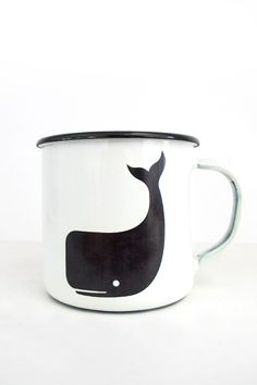 Steel Mug Whale - TWOTHIRDS