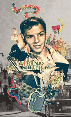 Frank Sinatra Poster, Frank Sinatra Quotes, Old Hollywood Stars, Classic Hollywood, Vintage Hollywood, Dorm Posters, Badass Tattoos, Retro Aesthetic, Collage Art
