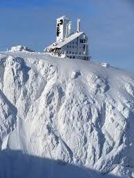 Krkonoše v zimě - Sněžné jámy