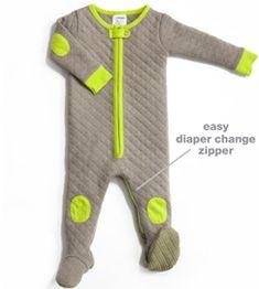 Buy sleepsie khaki Baby Footed Pajamas: Warm Footed Pajama & Baby Sleepwear   Buy sleepsie khaki Babydeedee USA