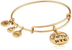 "Alex and Ani ""Places We Love"" Rafaelian Gold Finish NYC Skyline Expandable Wire Bangle Bracelet, 7.25"" Alex and Ani http://www.amazon.com/dp/B00EYTKI4Q/ref=cm_sw_r_pi_dp_lGFhvb1PZ8XG0"