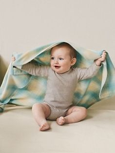 Washable Merino Crib Blanket - Anna LOVES hers!