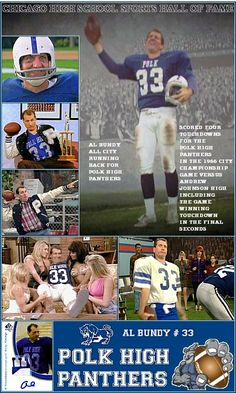 Al Bundy - Polk High - Married with Children holidays humour Best Tv Shows, Favorite Tv Shows, Al Bundy, Kids Comedy, You Are My Hero, Married With Children, Funny Memes, Hilarious, School Sports