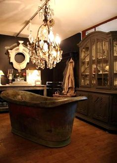 Country French Antiques: Bruxelles or Brussels Victorian Bathroom, Bathroom Inspiration, Bathroom Ideas, Man Bathroom, Bathroom Vanities, Bathroom Designs, Bathroom Organization, Master Bathroom, Design Inspiration