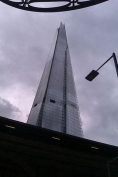 © mat casey @the shard 32 London bridge street london Europes highest building my interpritation on peter marlows photograph