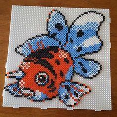 Seaking - Pokemon hama beads by tee_jaays