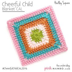 Cheerful Child is a baby blanket CAL on pinkmambo.com that appears every Monday and Thursday January 7-February18, 2016. If this is the first you've heard of this CAL you'll want to check out all the information in the original CAL post here. Cheerful Child features granny-style blocks in a variety of designs, all on the easy side. It's made of 25 squares plus a border. Twelve of the squares are different granny-style designs arranged in a checkerboard pattern with the  {Read More}