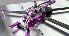 Production prototype of the Quaternium Spidex Pro