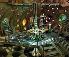 1000 images about sci fi control center on pinterest for Futuristic control room