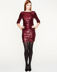 Glittering sequins add glamour for a knock-out effect. #laurenscloset