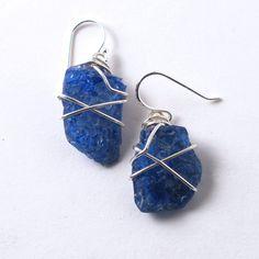 Heat Shattered Cobalt Blue Sea Glass by MermaidTearsSeaglass, $14.99