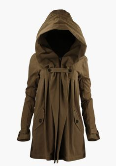 It's time to chose YES PLEASE! make it waterproof n Vancouver will love it!!! Nicholas K Anthro Hooded Jacket_ -Perfect apocalypse jacket:p