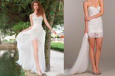 - 2 in 1: Detachable Wedding Dress - EverAfterGuide