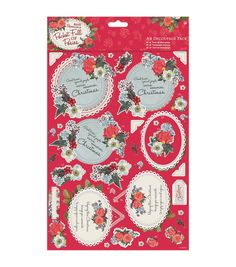 Papermania Pocket Full Of Posies A4 Decoupage Pack - Mum