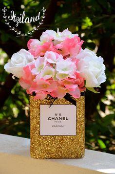 Chanel flower vase