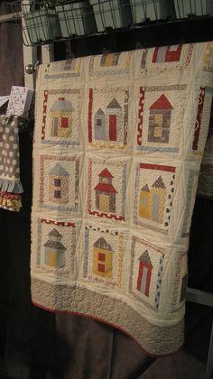 Moda Hometown booth by maricopafabrics/Jamie, via Flickr