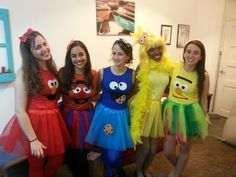 Sesame street costume                                                                                                                                                                                 More