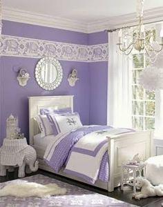 purple aqua pink girls rooms - Google Search