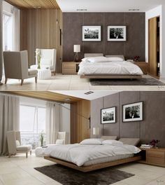 10 Astonishing Unique Ideas: Minimalist Decor Modern Floors minimalist home tour beds.Minimalist Home Closet Sliding Doors minimalist bedroom lighting gray.Modern Minimalist Bedroom For Teens. Modern Bedroom Design, Contemporary Bedroom, Bedroom Designs, Bedroom Ideas, Bed Designs, Bedroom Inspiration, Contemporary Wallpaper, Contemporary Office, Contemporary Furniture