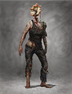 The Last of Us Concept Art - Clicker