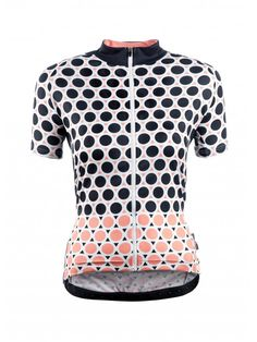 Chapeau Women Short Sleeve Jersey Madeleine Geo Polka The most stylish ladies cycling jerseys we've seen in a long time! Loving the Geometric pattern Women's Cycling Jersey, Cycling Wear, Bike Wear, Cycling Jerseys, Cycling Shorts, Cycling Outfit, Cycling Clothing, Cycling Workout, Clothes For Women
