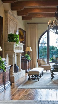 Thatu0027s Amore: Tuscan Style Homes Youu0027ll Love | Tuscan Style, Interiors And  Wooden Ceilings Part 96